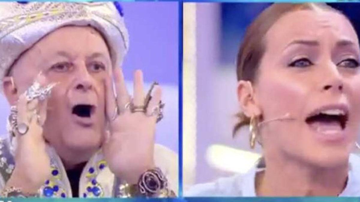 Divino Otelma, furia contro Karina Cascella: 'Nella tua testa solo segatura'