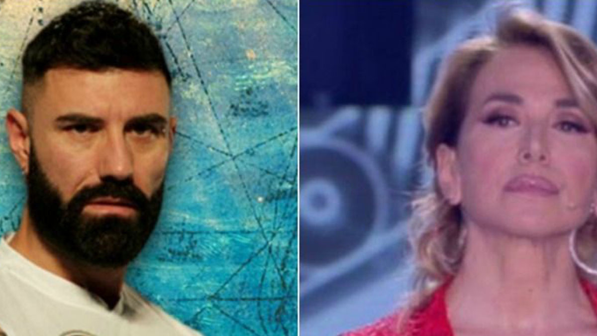 Barbara D'Urso contro John Vitale: 'Ci vediamo in tribunale'