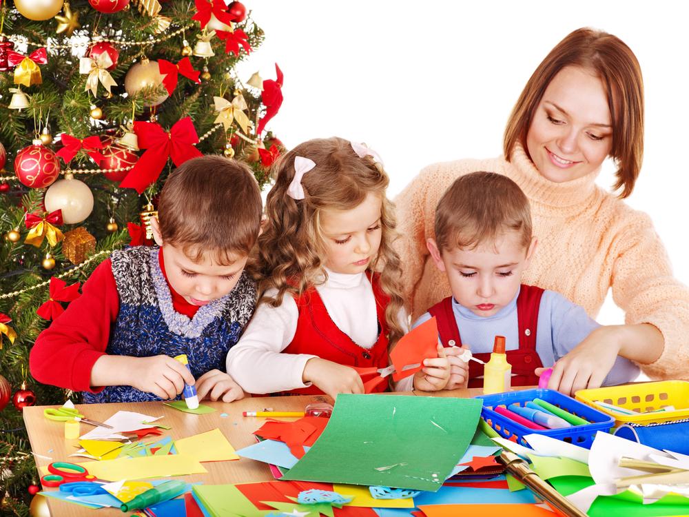 Lavoretti di Natale per bambini, idee da realizzare