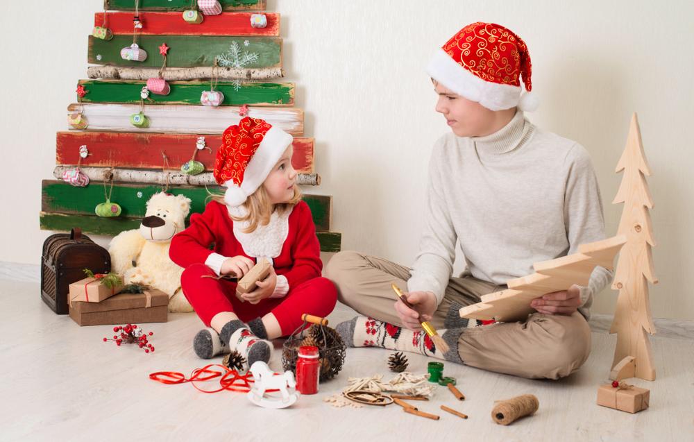 Lavoretti di Natale per bambini fai da te