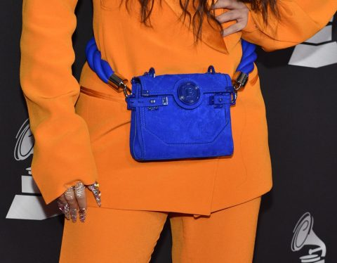 Classic blue bag