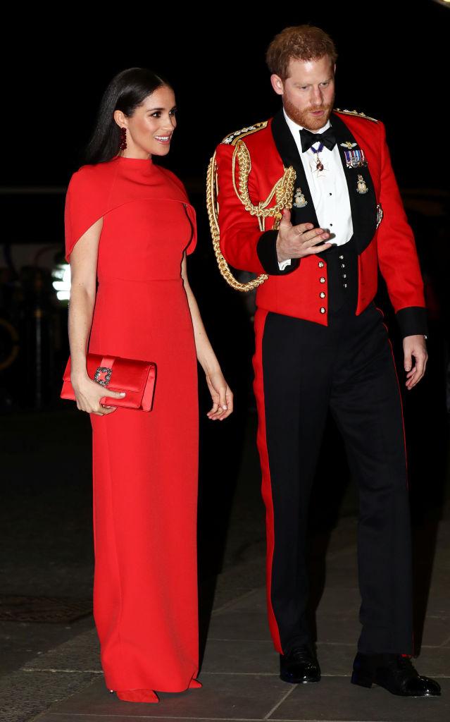 Meghan e Harry al Mountbatten Music Festival