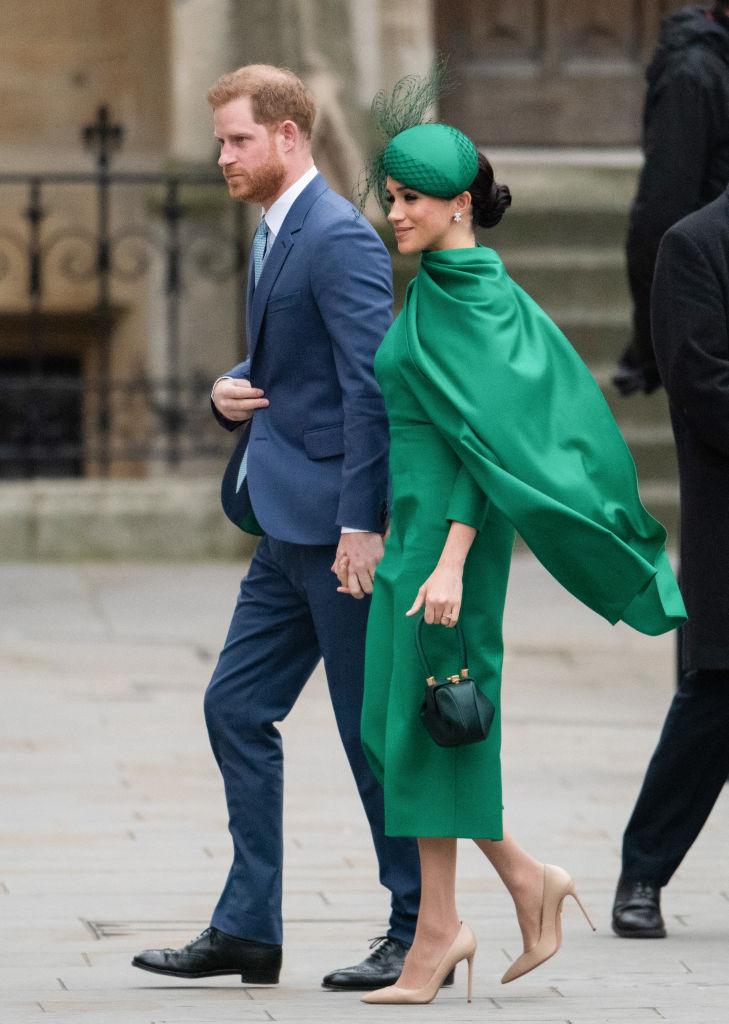 Meghan in verde