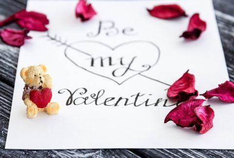 Biglietto di auguri per San Valentino