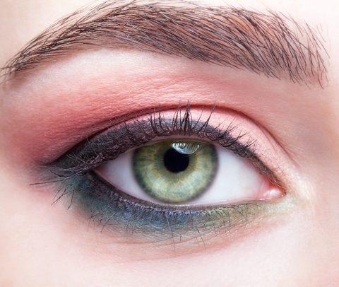Trucco sposa occhi verdi