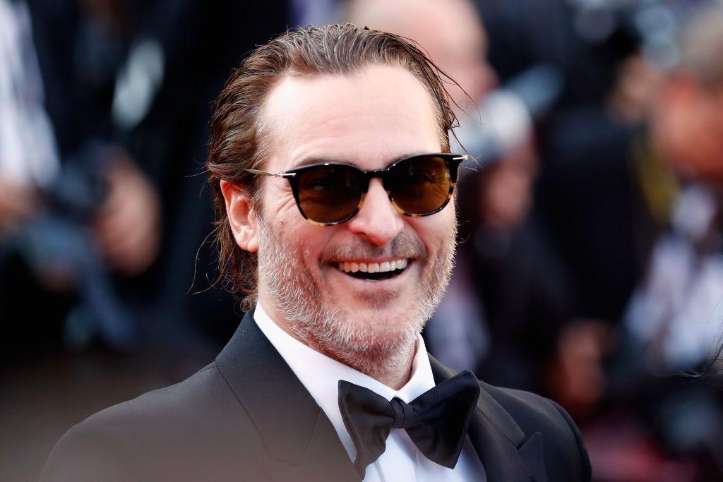 Joaquin Phoenix durante la 70esima edizione del Festival di Cannes