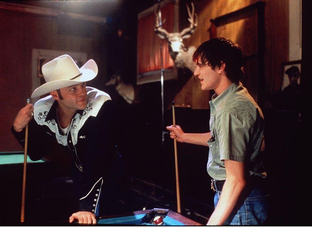 Joaquin Phoenix e Vince Vaughn nel film del 1998 Il Sapore del Sangue