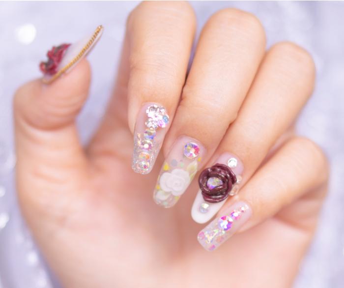 decorazioni unghie primavera