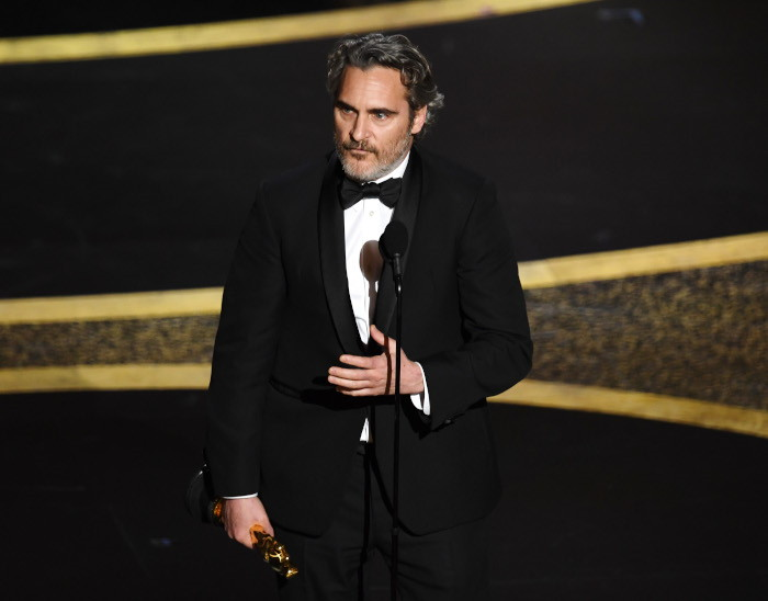 Joaquin Phoenix discorso Oscar 2020