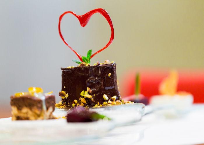 Dolci menù di San Valentino