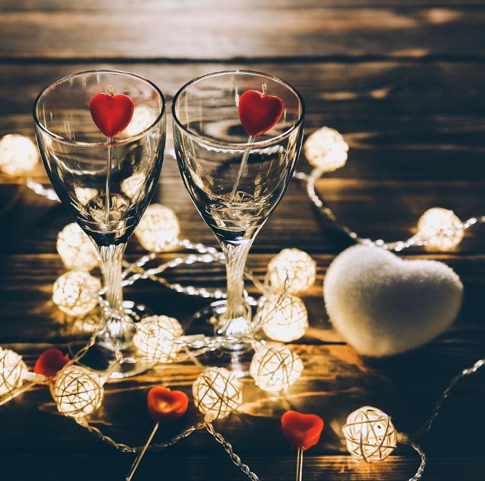 Cena festa degli innamorati