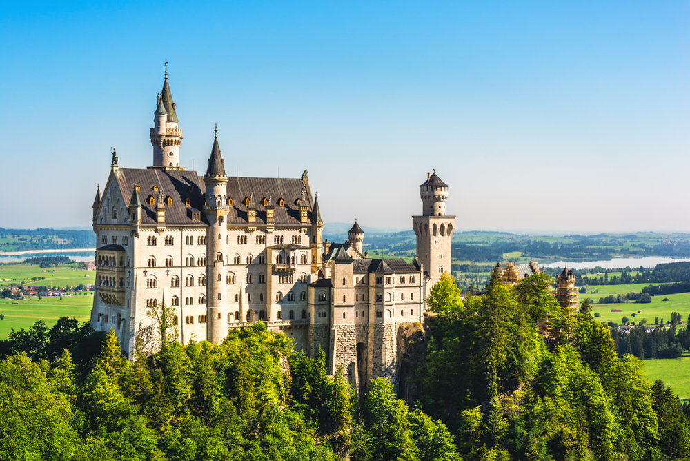 Neuschwanstein, Germania: 10 luoghi da visitare