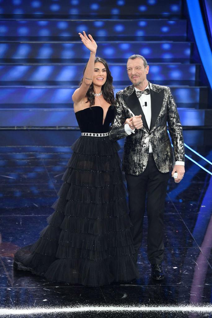 Francesca Sofia Novello con Amadeus
