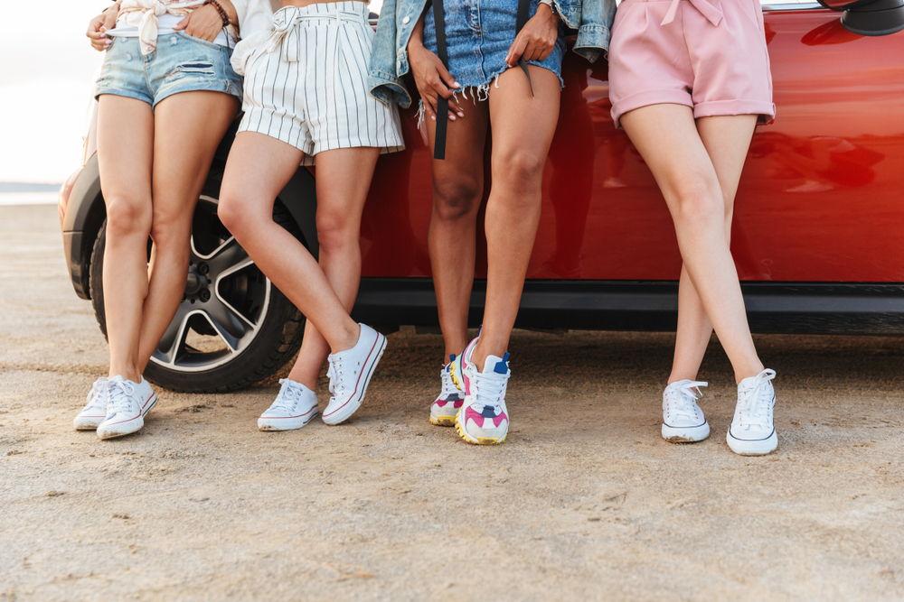 Scarpe bianche, amore sneakers