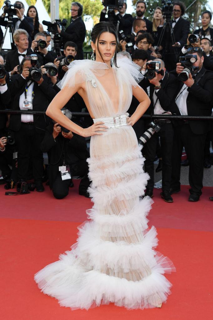 Kendall Jenner si presenta spesso ai red carpet con dei meravigliosi abiti in tulle