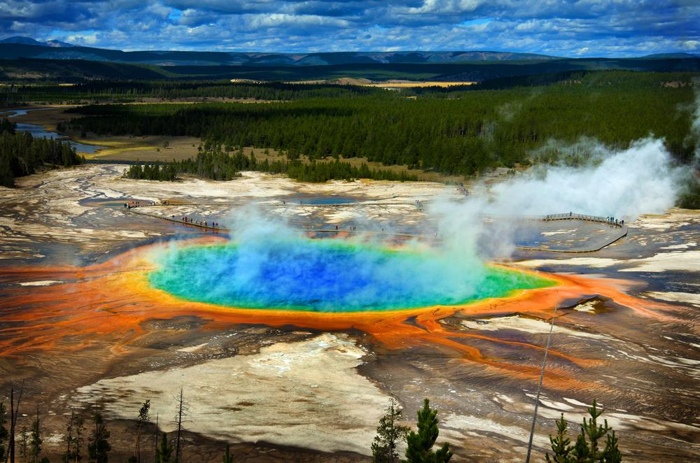 Yellowstone, Stati Uniti