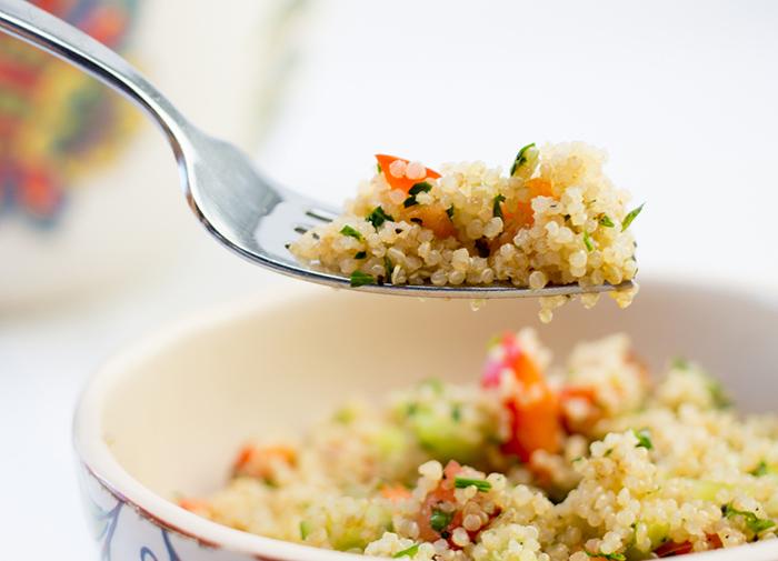 Quinoa fra gli alimenti ricchi di proteine