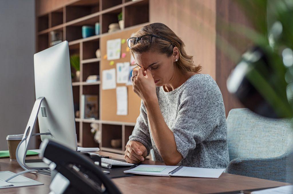 Burnout stress lavoro