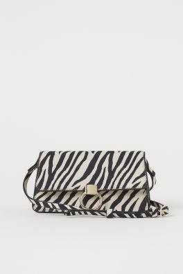 Borsa piccola zebrata. Prezzo: 14,99 euro