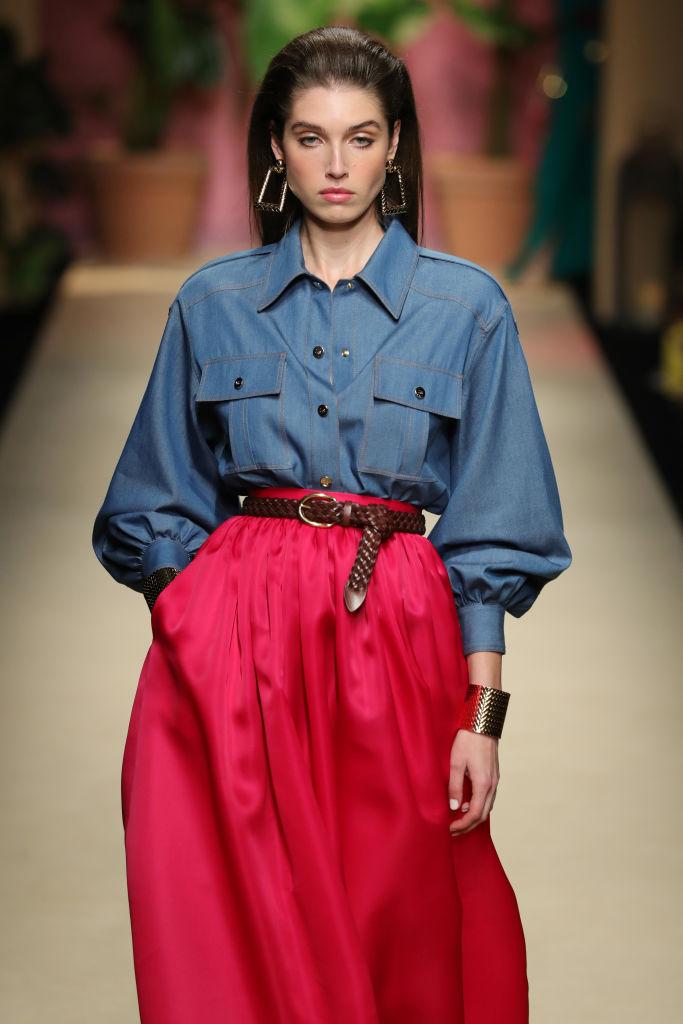 Camicia jeans Luisa Spagnoli