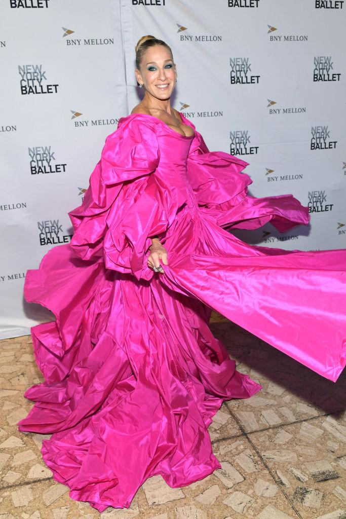 In occasione dei vari Met Gala, ha sempre amato sfoggiare abiti sontuosi