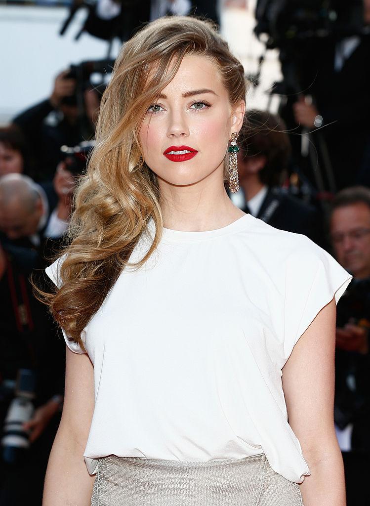 Amber Heard a Cannes