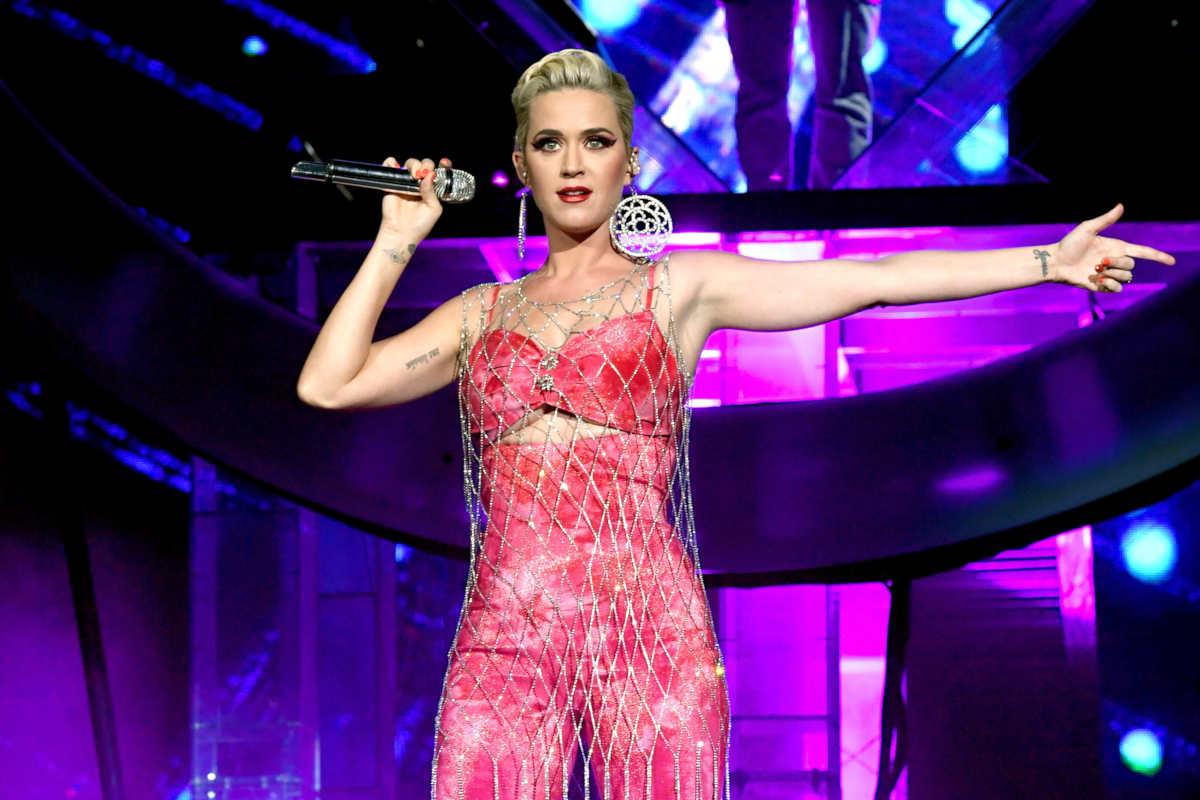 Katy Perry nel 2019 al Coachella