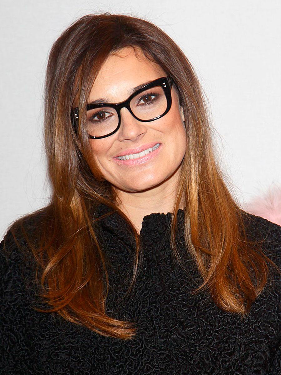 Alena Seredova con occhiali da vista
