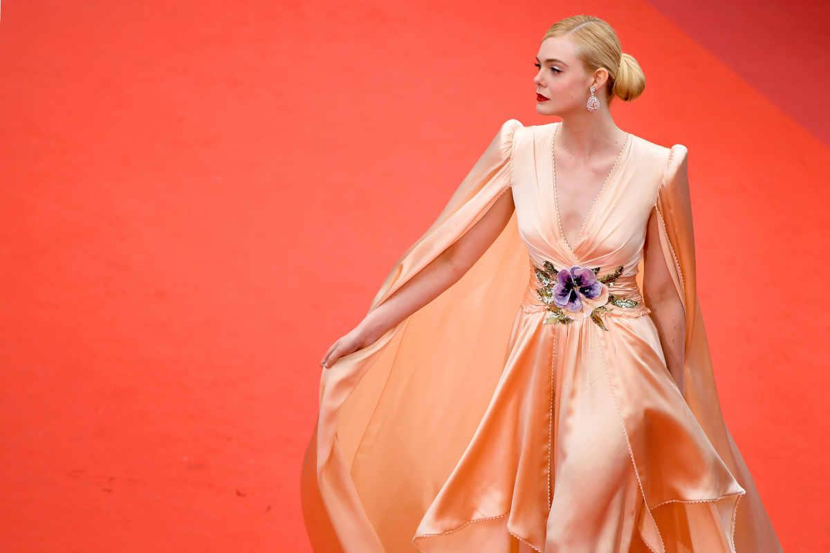Elle Fanning al Festival di Cannes