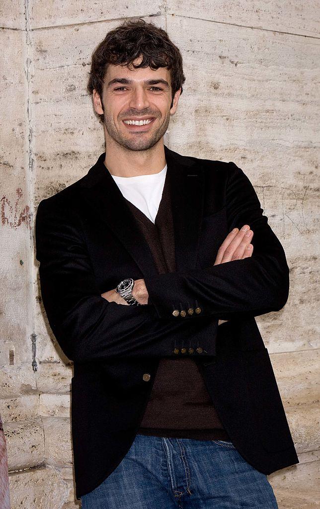 Luca Argentero sorridente