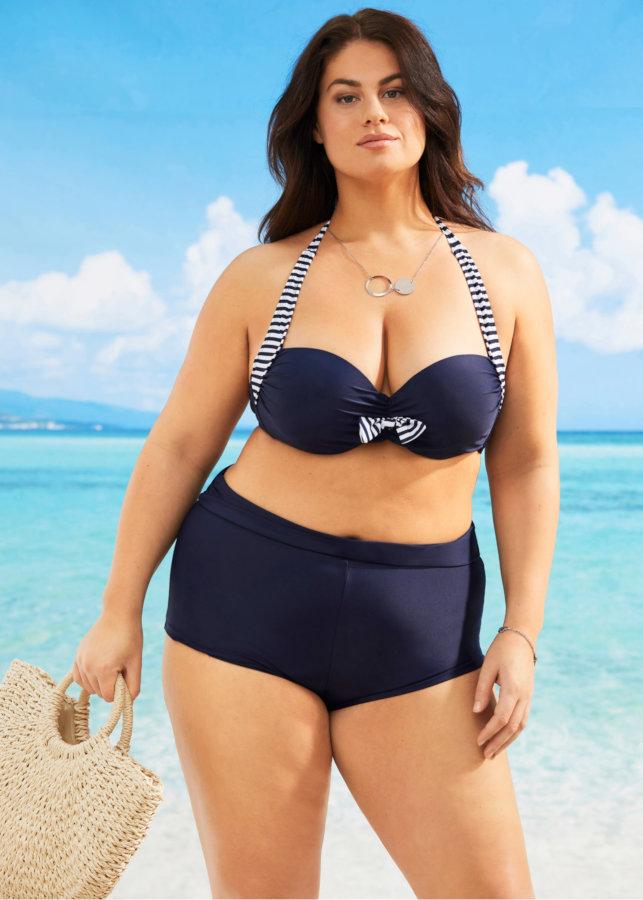 Bikini con fiocco oversize
