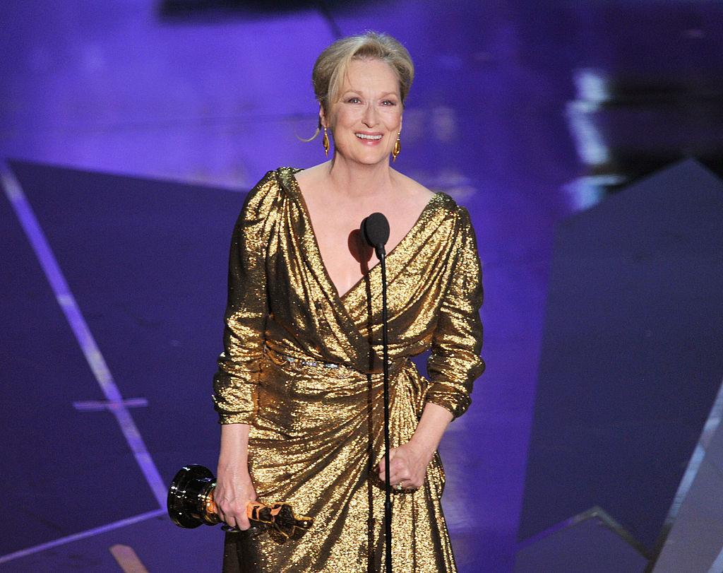 Meryl Streep vince l'Oscar nel 2012