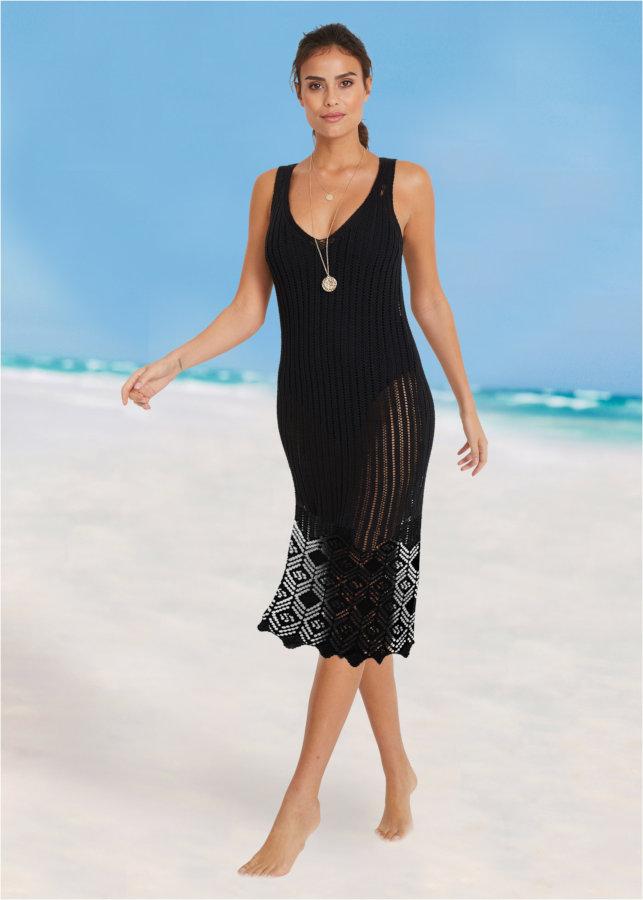 Vestito nero da mare