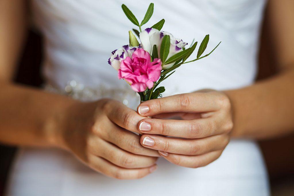 Unghie sposa naturali