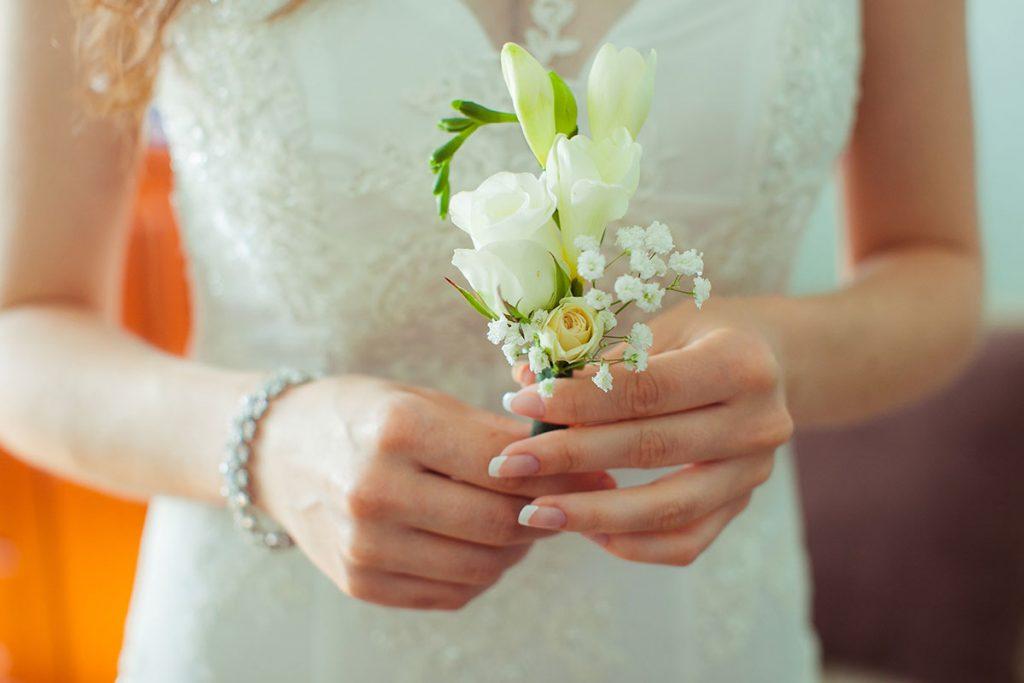 Unghie da sposa french