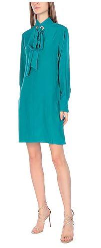 Vestito blu pavone Chloé