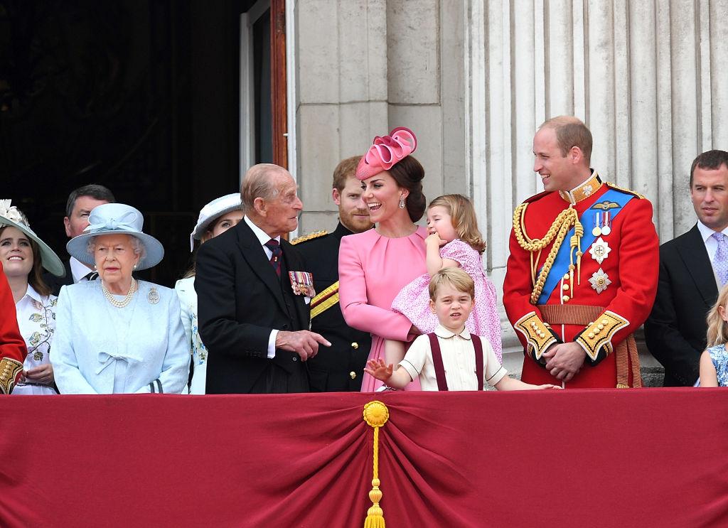 Kate e il principe Filippo