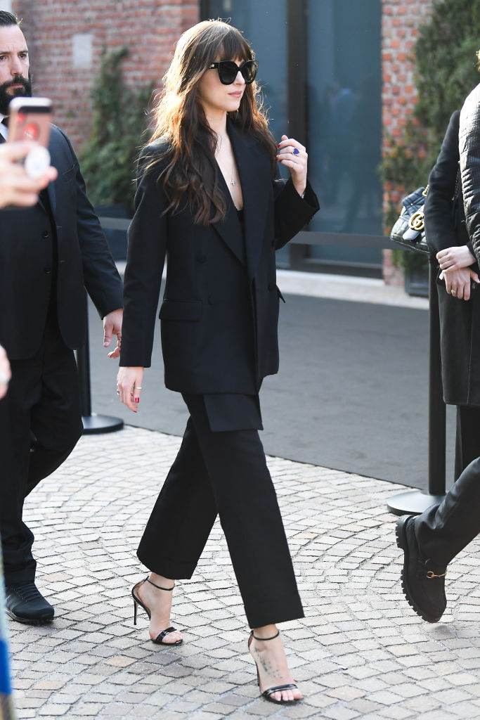 Dakota Johnson look da copiare autunno 2020