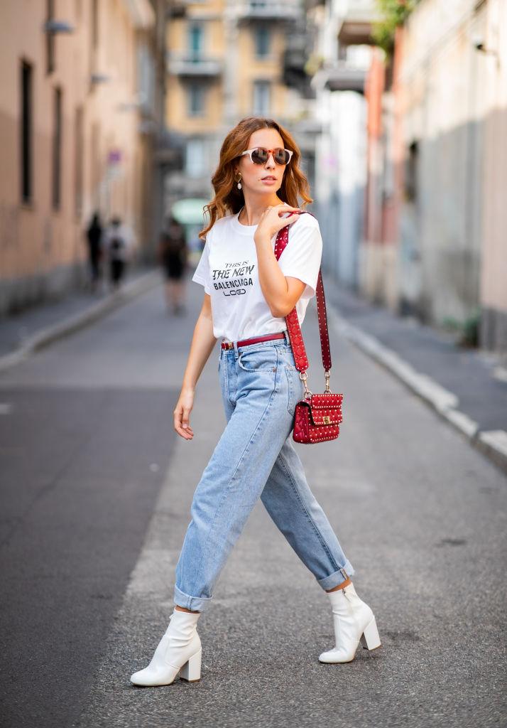 Tendenze autunno boyfriend jeans