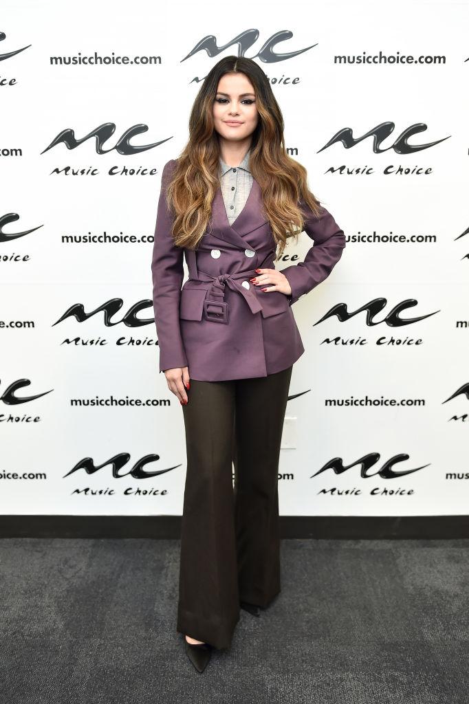 Selena Gomez look autunno
