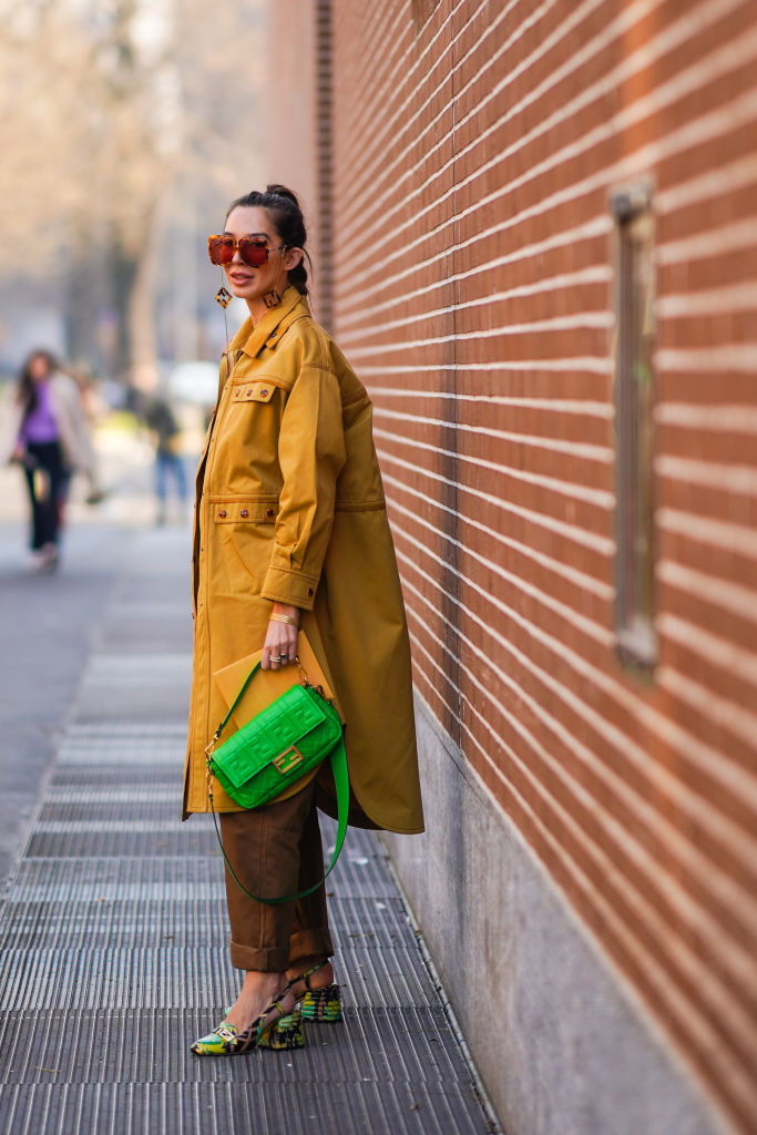 Look autunno slingback