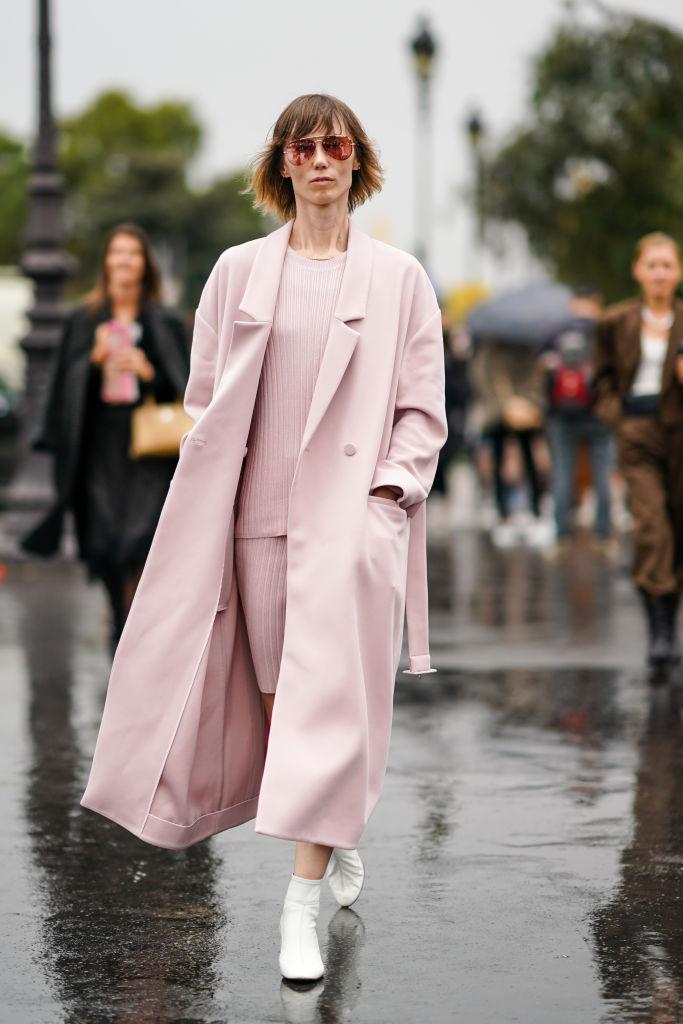 Look comodo rosa chiaro