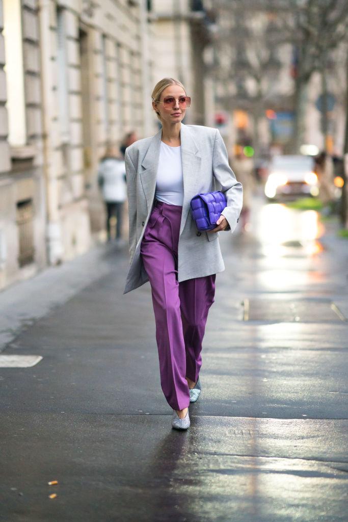 Pantaloni a vita alta settembre tendenze
