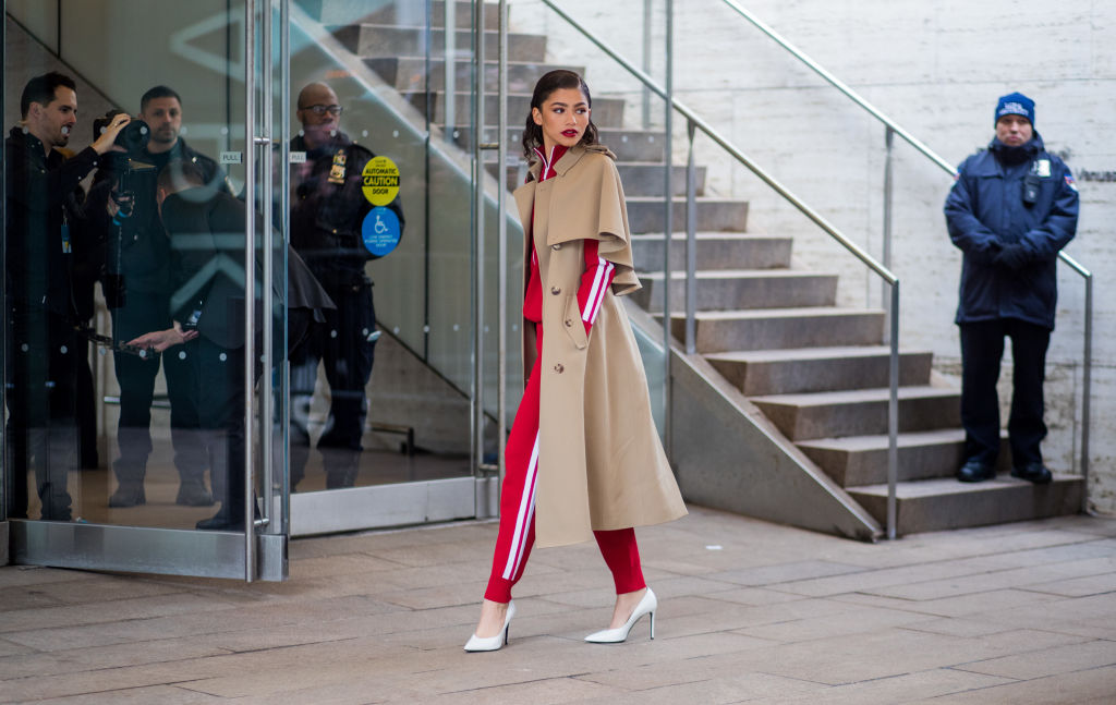 Zendaya look autunno