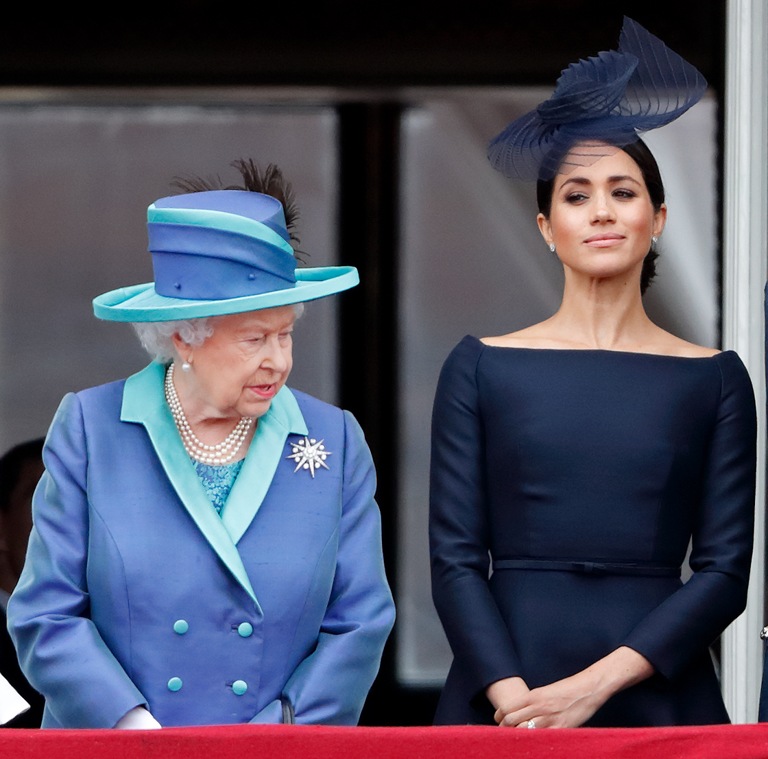 Meghan Markle regina Elisabetta