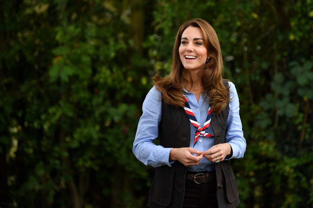 Kate Middleton scout