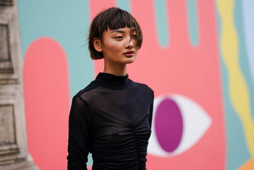 Tendenze capelli 2020 frangia