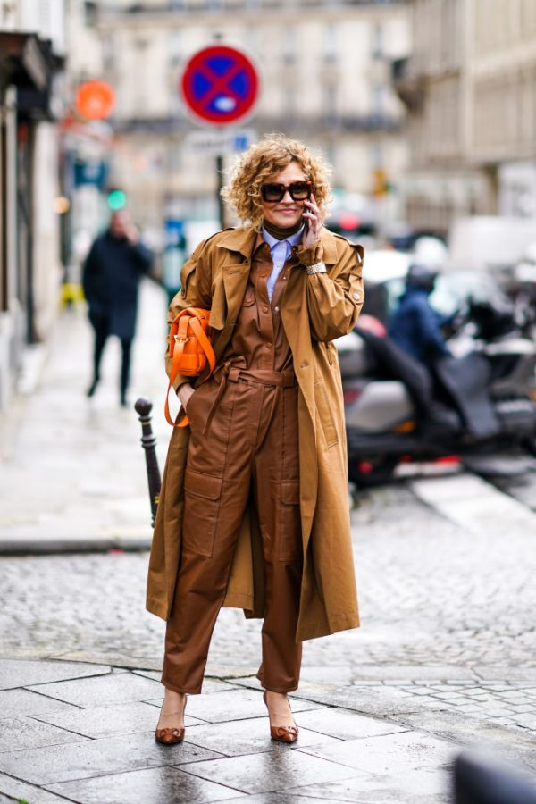 Look autunno 2020 trench