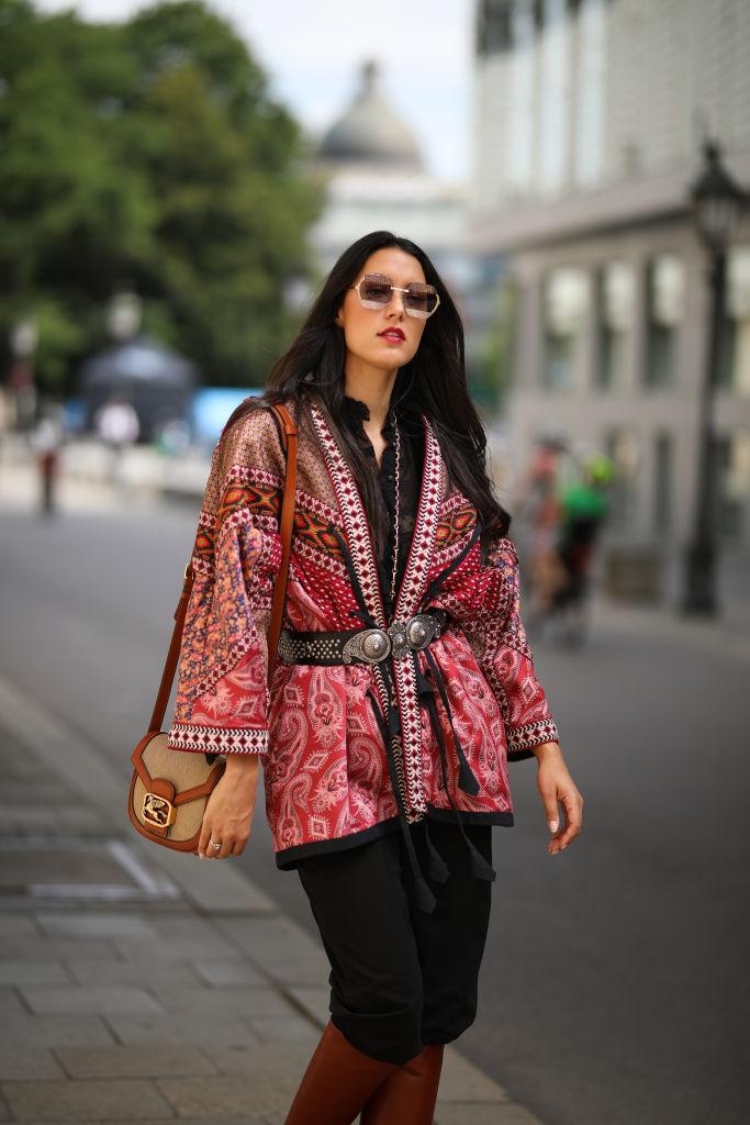 Look inverno kimono