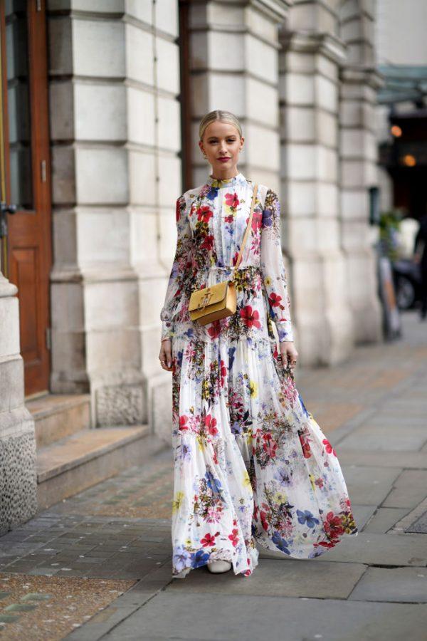 Vestito lungo chemisier